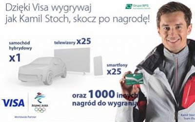 Kartoweemocje Visa z Kamilem Stochem!